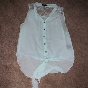 Tops - Sheer blouse